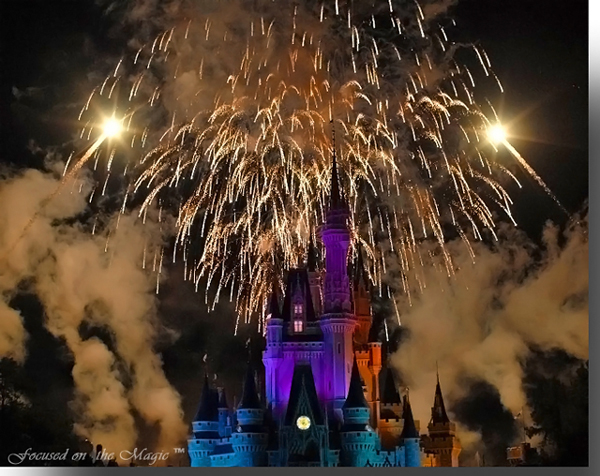 Wishes, Magic Kingdom #DisneyPhotography by Deb Silhan
