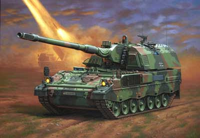 Panzerhaubitze PzH 2000 tank - Future Weapons