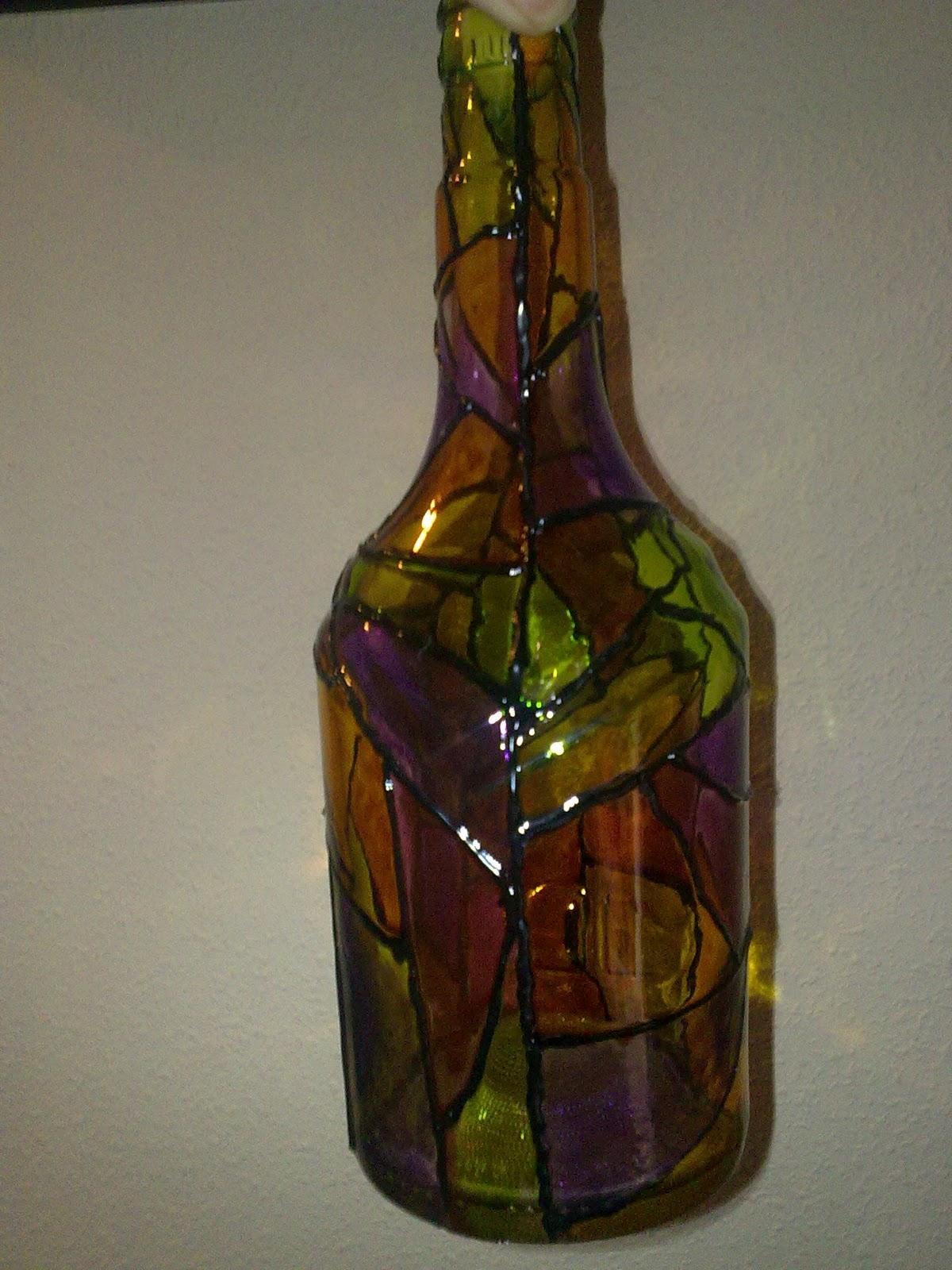 Botellas de vidrio decoradas pictures - Botellas de plastico decoradas ...