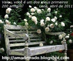 O Blog Amadeirado comemora 200 seguidores