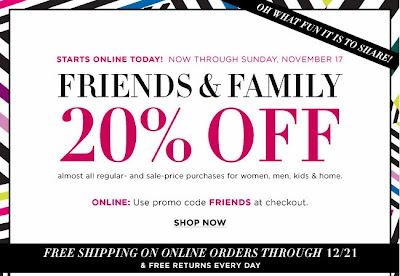 Bloomingdale's Friends & Family Includes Luxury