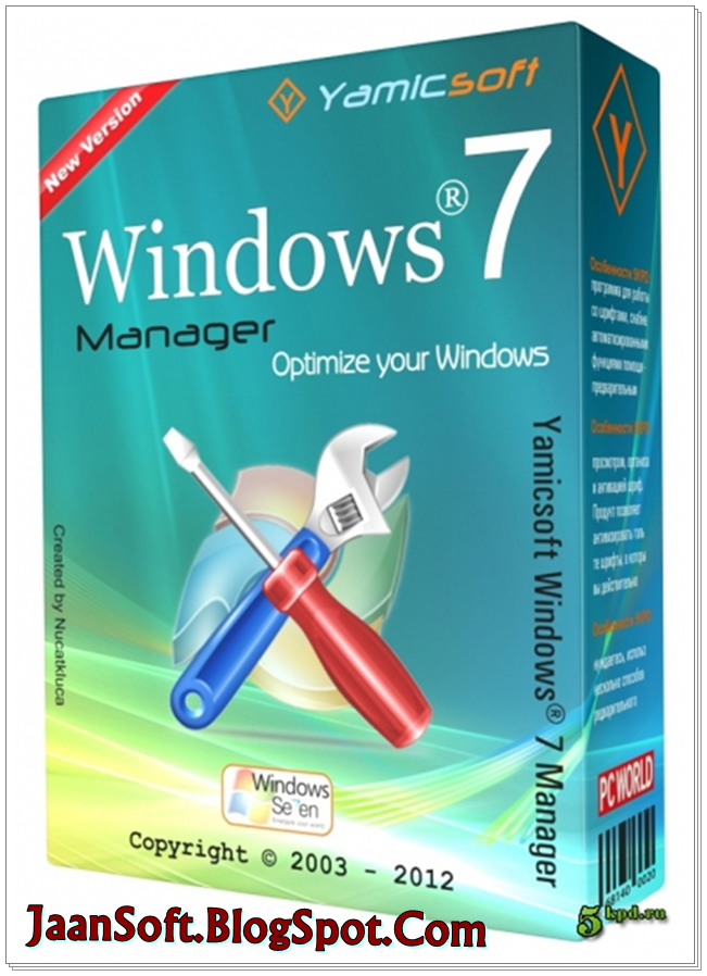 Windows 7 Manager 5.0.9 For Windows 7 Latest Download