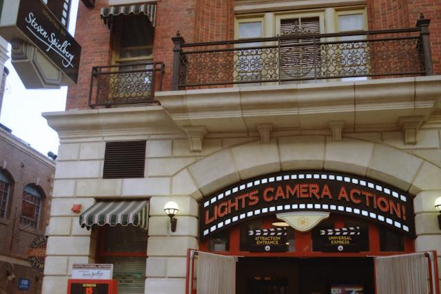 Universal Studios SIngapore spielberg