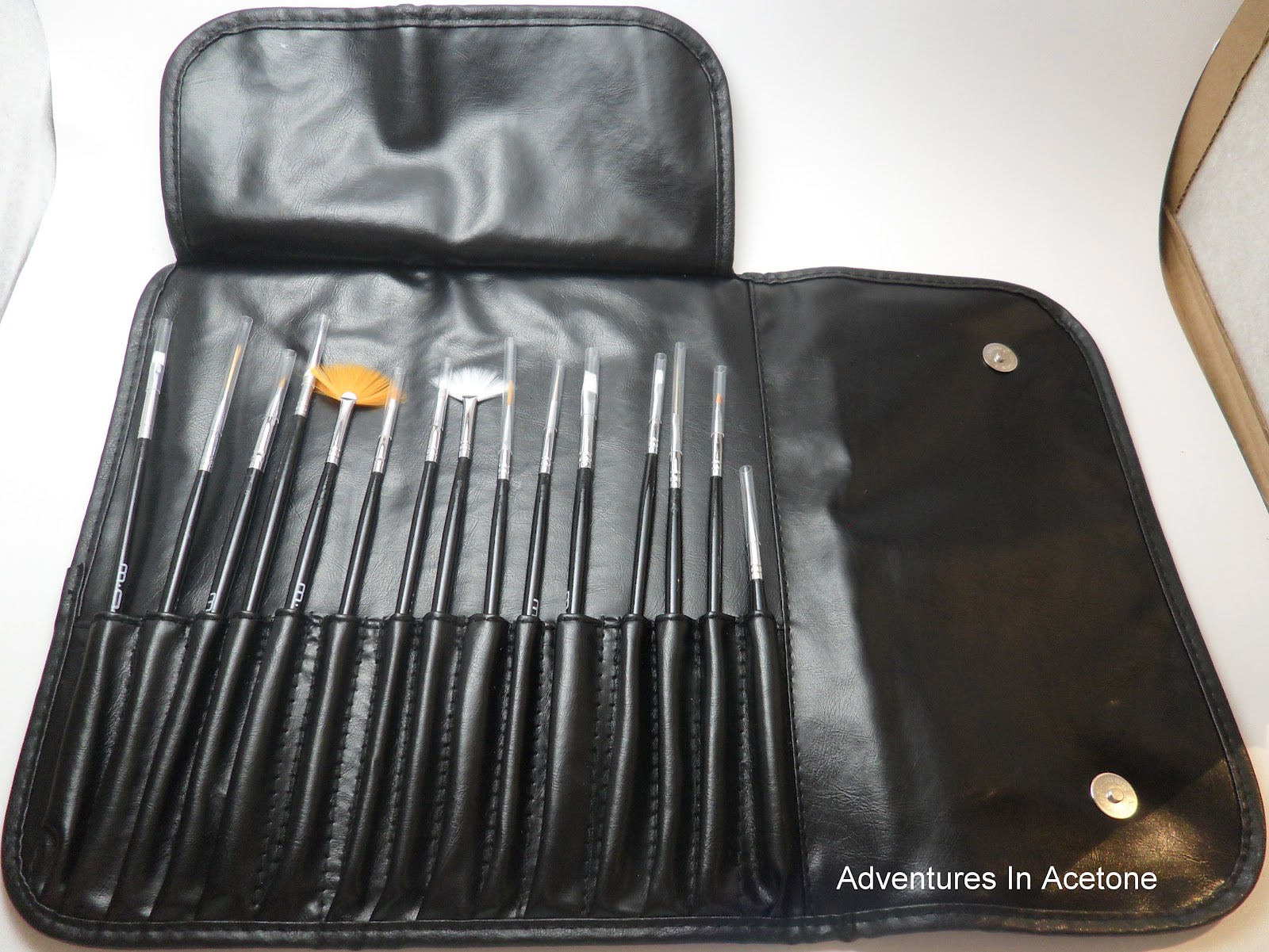 MASH Nail Art Brush Set Review! - Adventures In Acetone