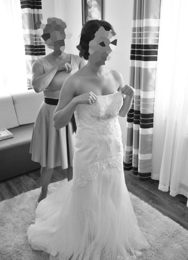 Suknie ślubne Vestido Rybka Firmy Papa Michel Model Jamaica