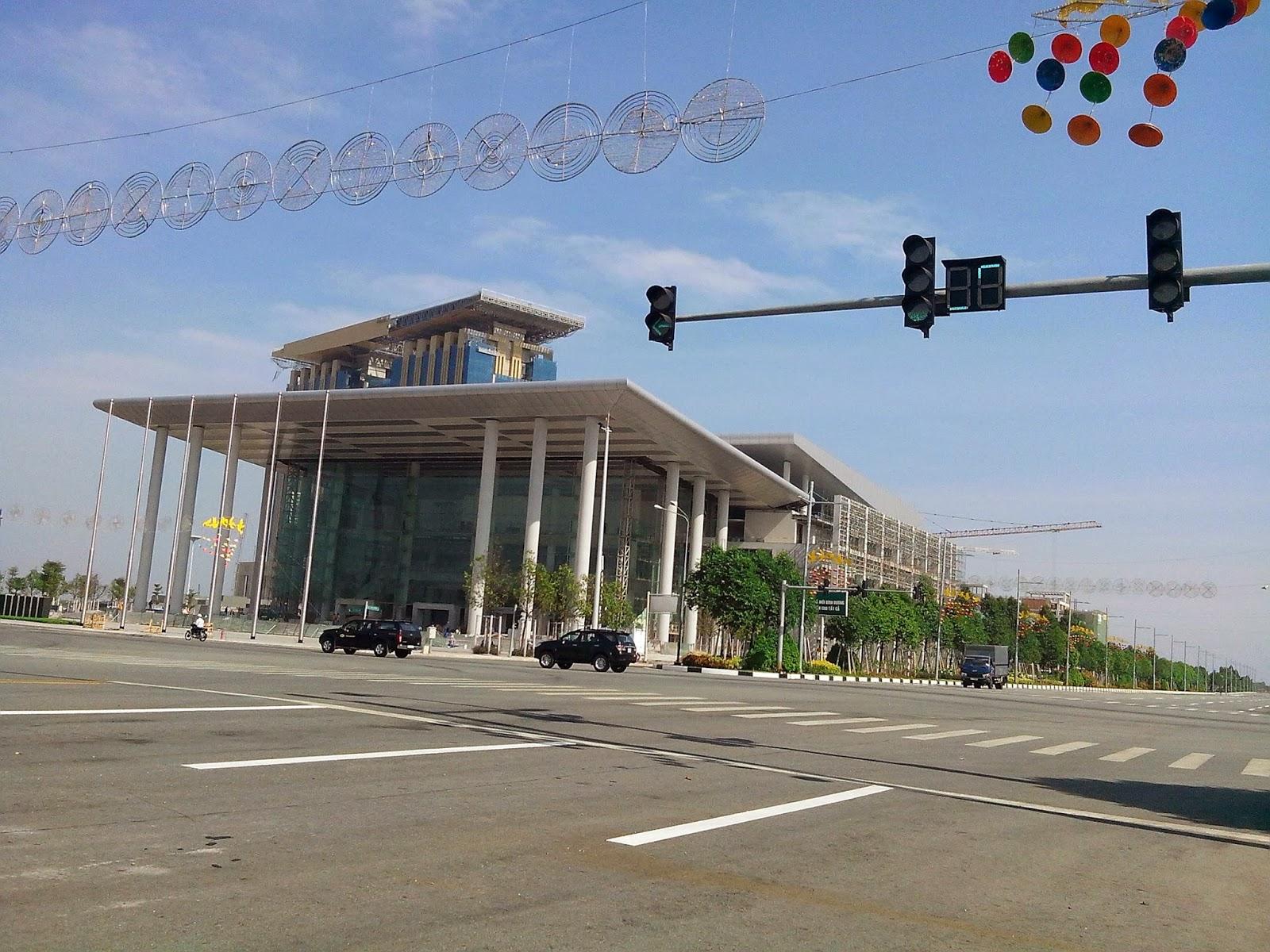 Trung tâm triển lãm hội nghị TP mới BD, Trung tam trien lam hoi nghi TP moi BD