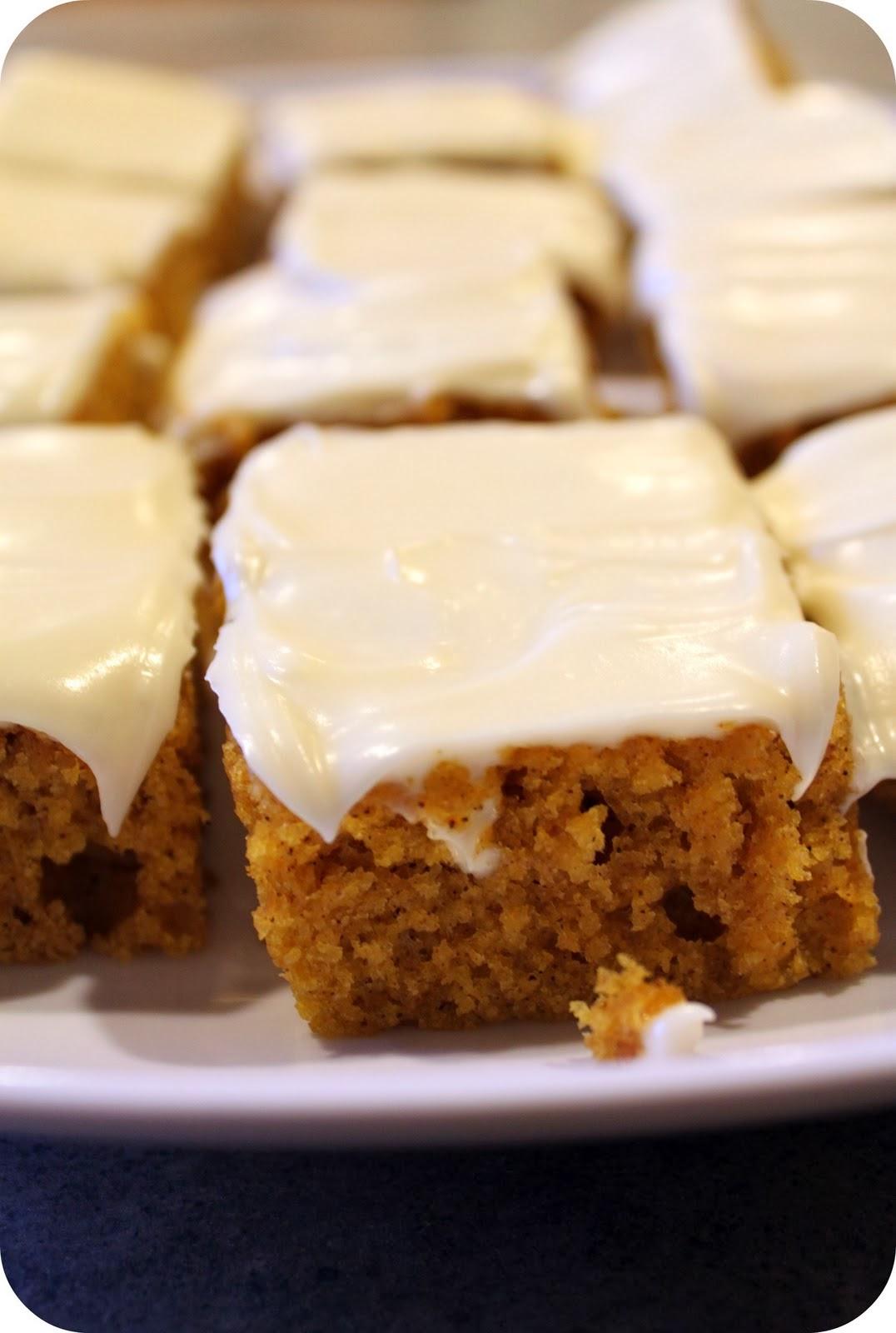 Pumpkin bars cook 39 n is fun food recipes dessert for Bar food ideas recipes