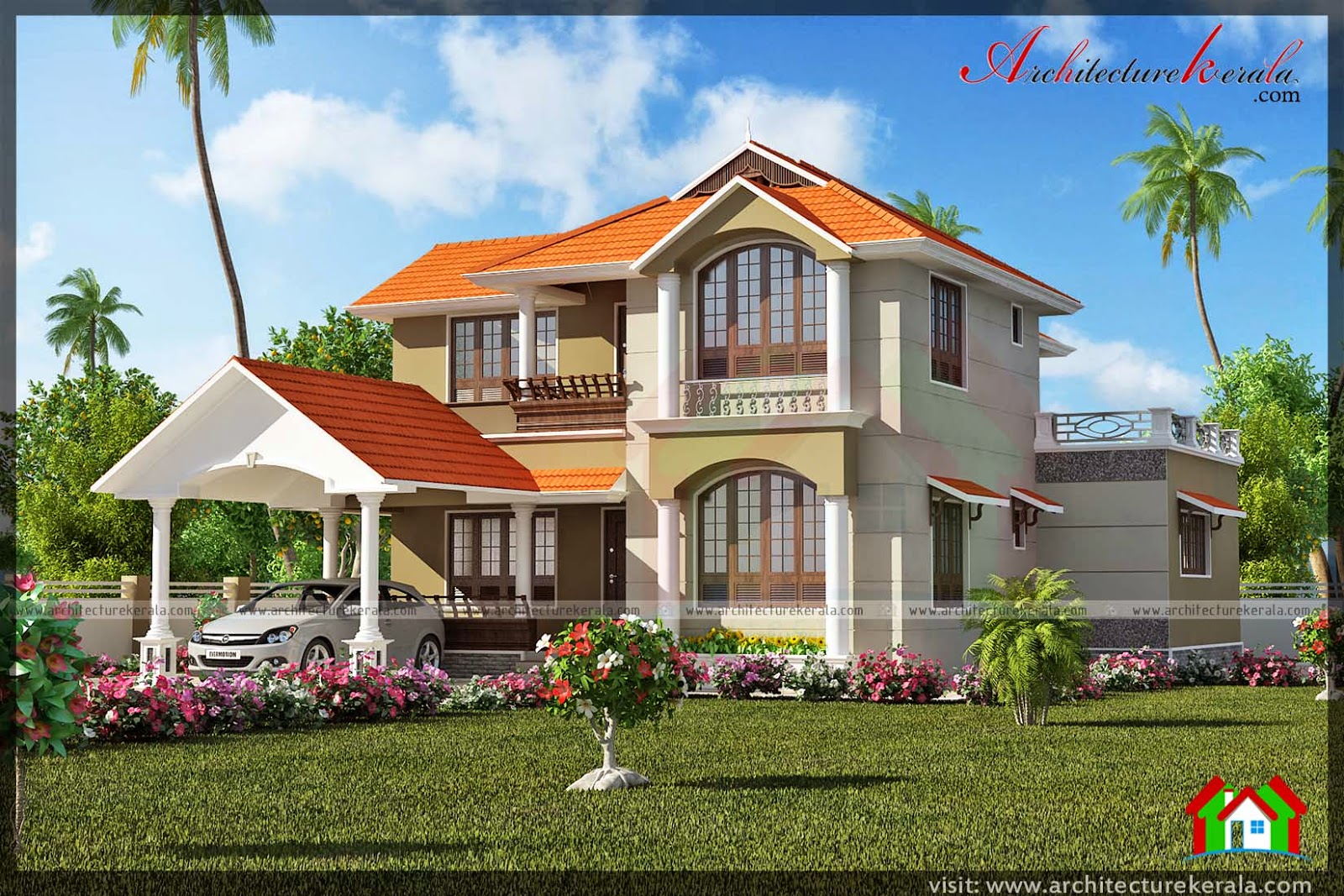 2500 sq ft four bedroom house with pooja room for 2500 sqft 4 bedroom house plans