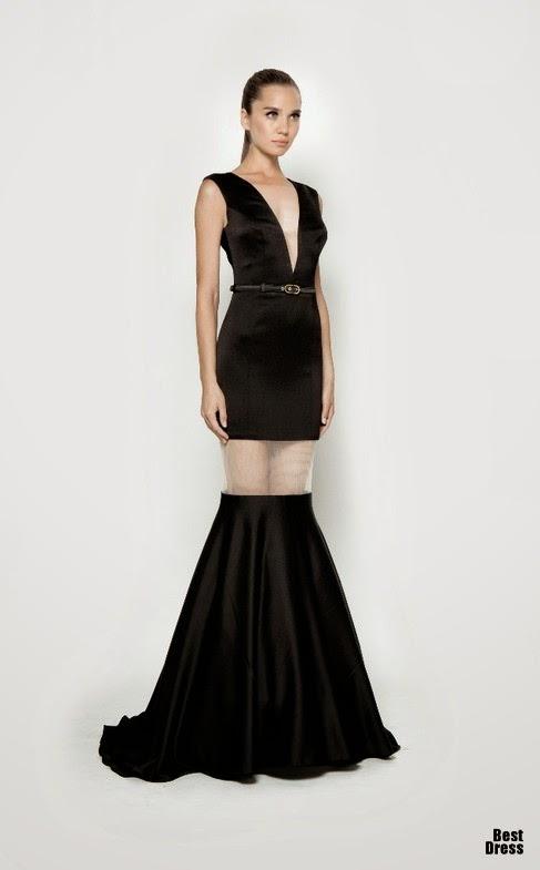 moda en vestidos largos elegantes