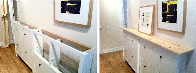 Hemnes double shoe cabinet