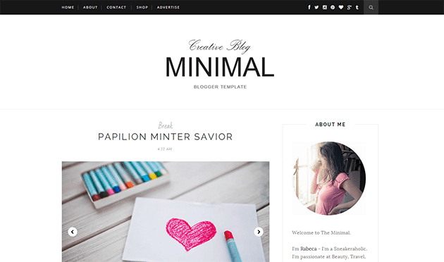 Free website blogger templates