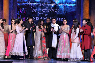 Bollywood Celebs grace the 'Mijwan-Sonnets in Fabric' fashion show