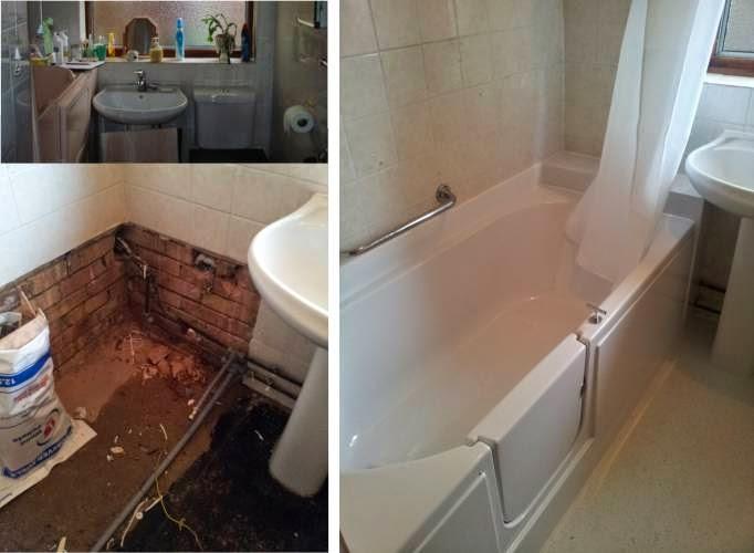Cirrus Walk-in Bath Installation