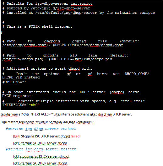 dhcpd(8): Dynamic Host config Protocol Server - Linux man page