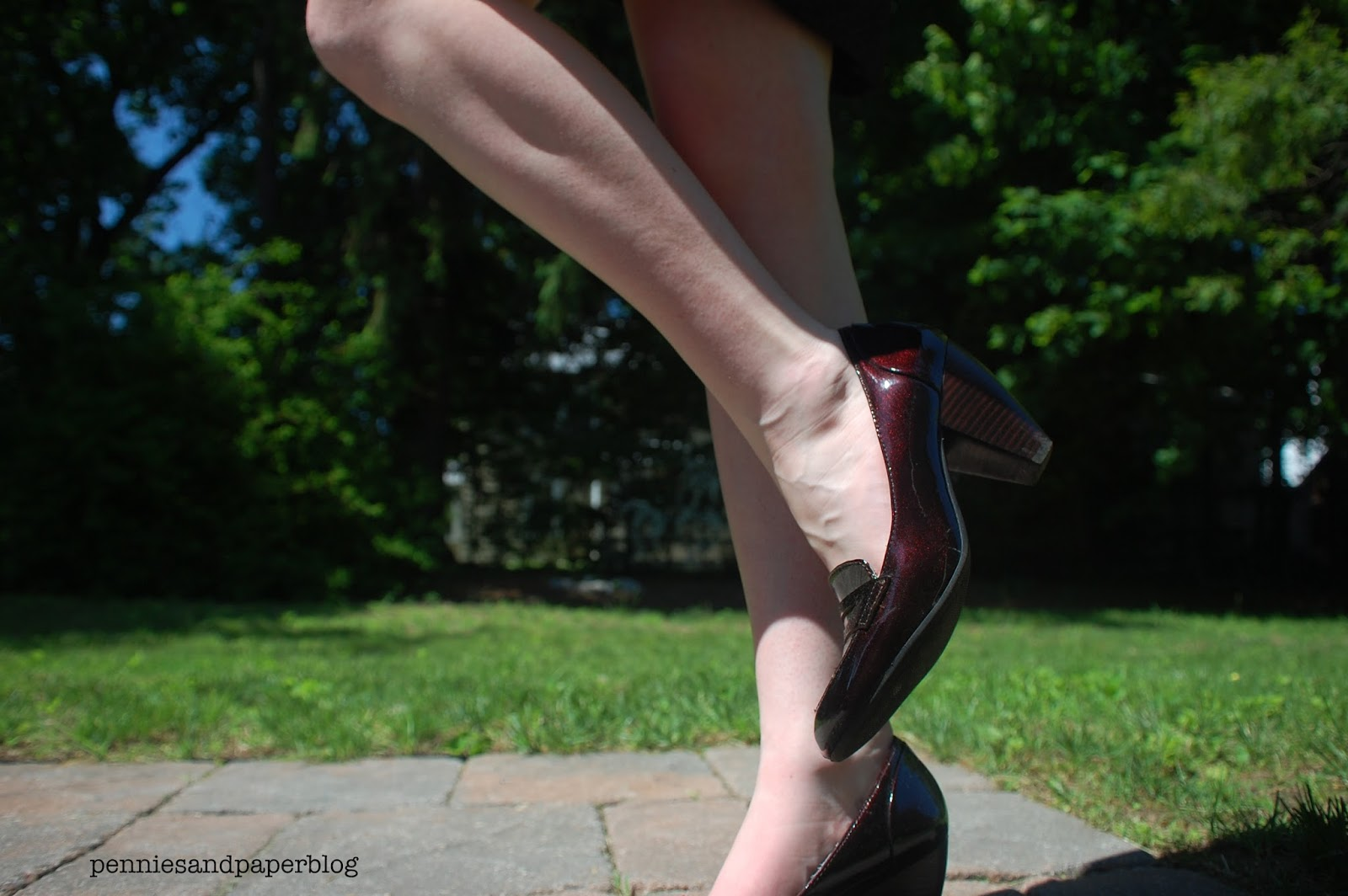 DSW loafer heels