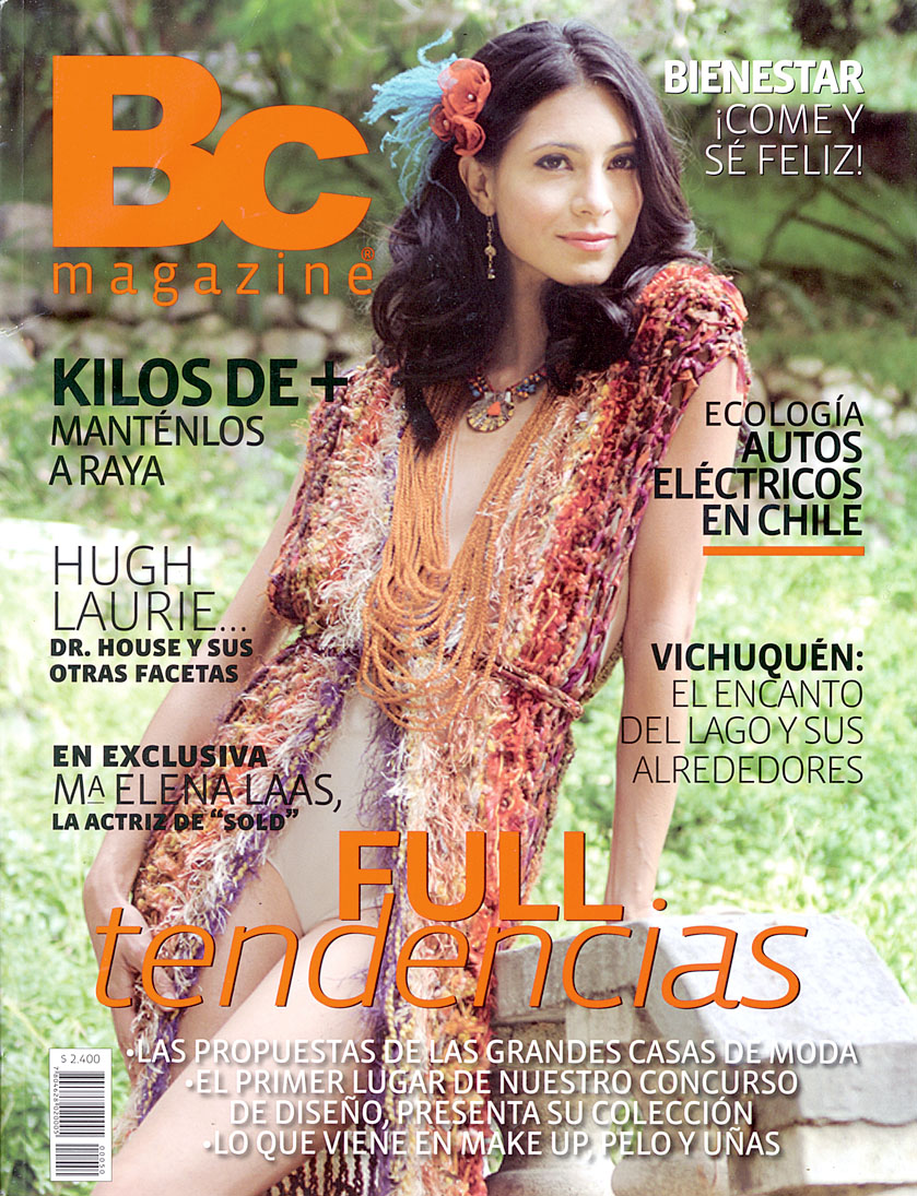 Maria Elena Laas Cover On Bc Chile