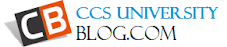 CCS University Blog | Meerut University with Purpose