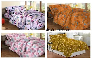 Bombay Dyeing Bedsheets 50% Off or more