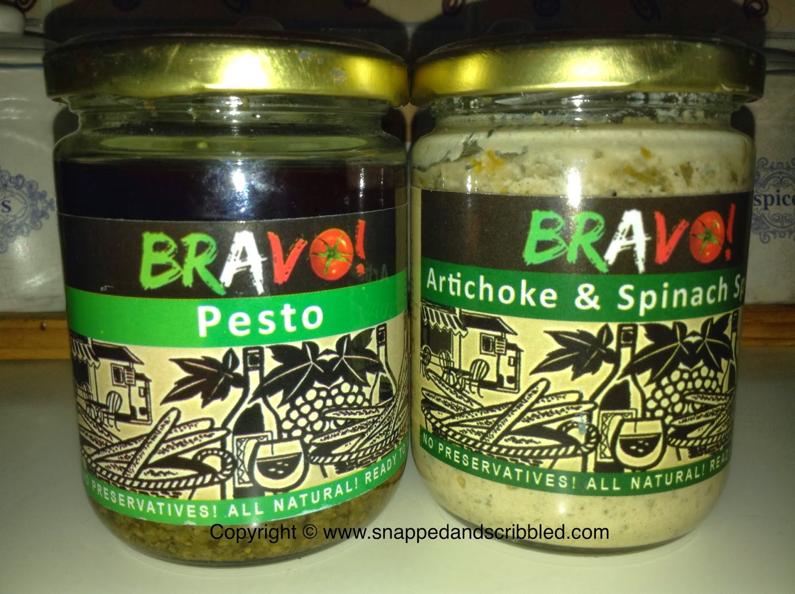 Bravo! Spreads and Sauces