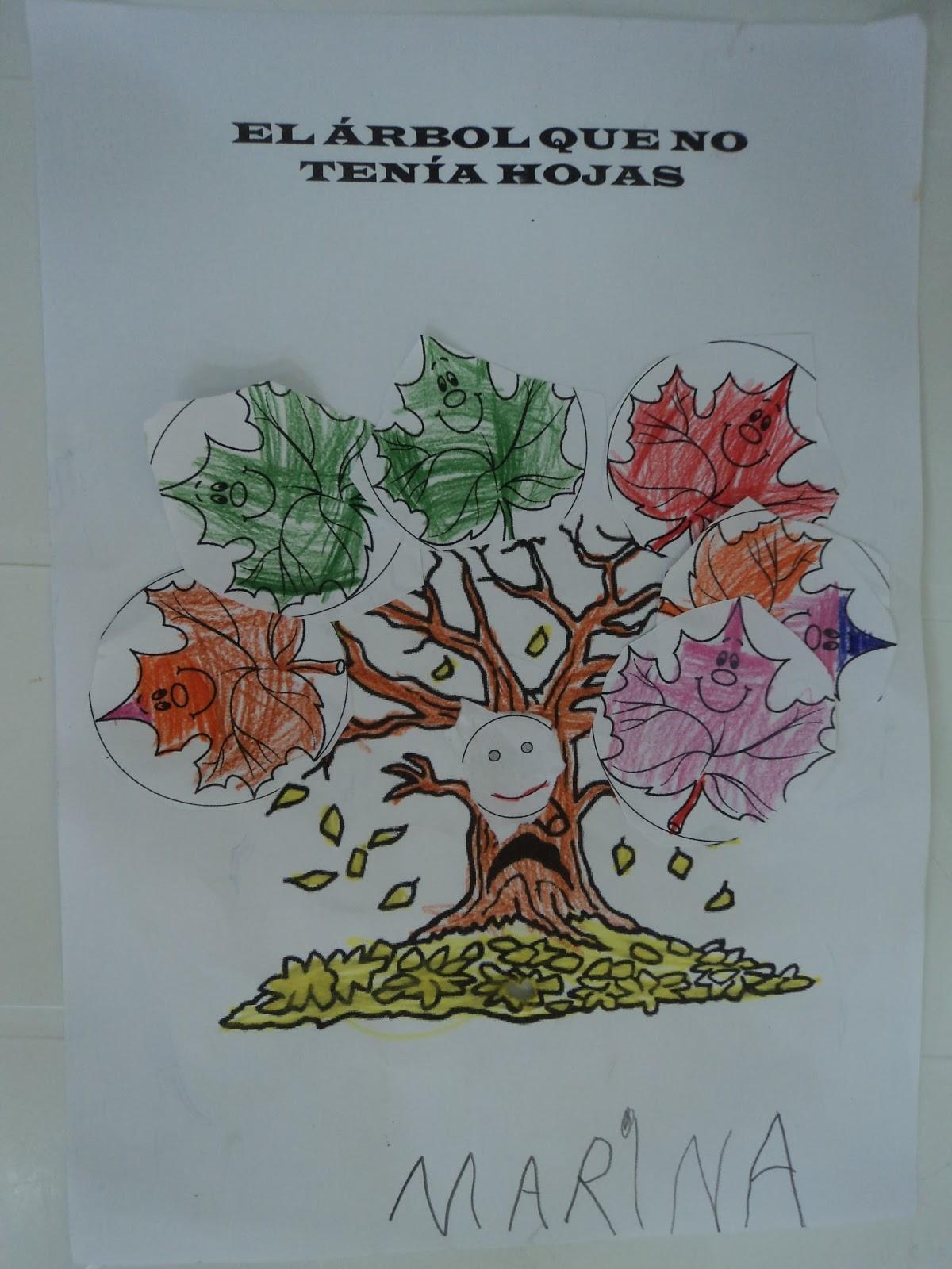Infantil goya fiesta de oto o infantil 2015 for El arbol que no tiene hojas