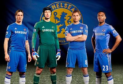 Chelsea, Arsenal Dan MU : Rilis Jersey Musim 2012 - 2013