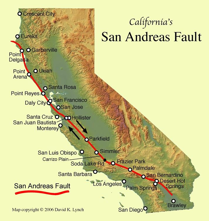 Resultado de imagem para complexo da falha de Santo André