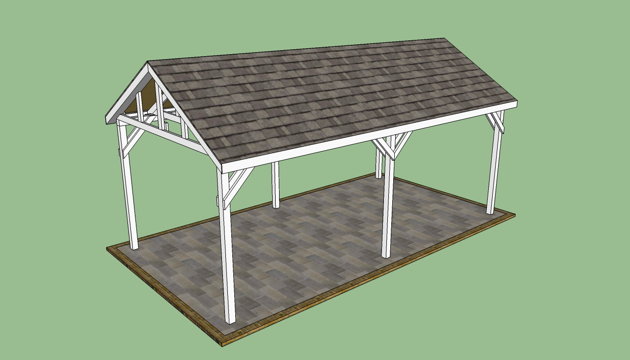 Carport gazebo plans pdf woodworking for Simple gazebo plans