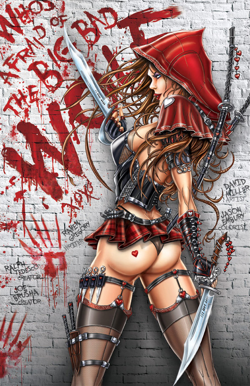 Consider, that red riding hood erotic