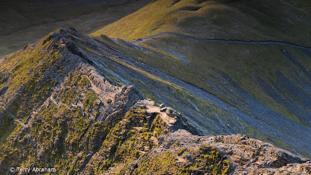 Sharp Edge Blencathra Lake District