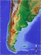 Las características generales de la orografía de la Argentina son la . argentina topo blank