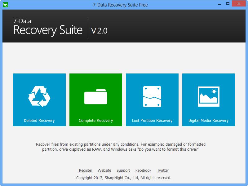 برنامج 7Data Recovery لاستعادة الملفات المحذوفة من الكمبيوتر