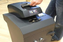 Caja fuerte gasolinera con aceptador de efectivo