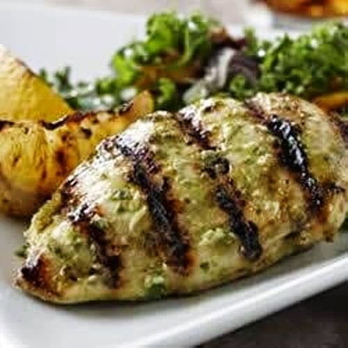 Lemon Basil Grilled Chicken
