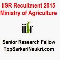 iisr-recruitment-2015, sarkari-naukri-2015, sarkari-naukri