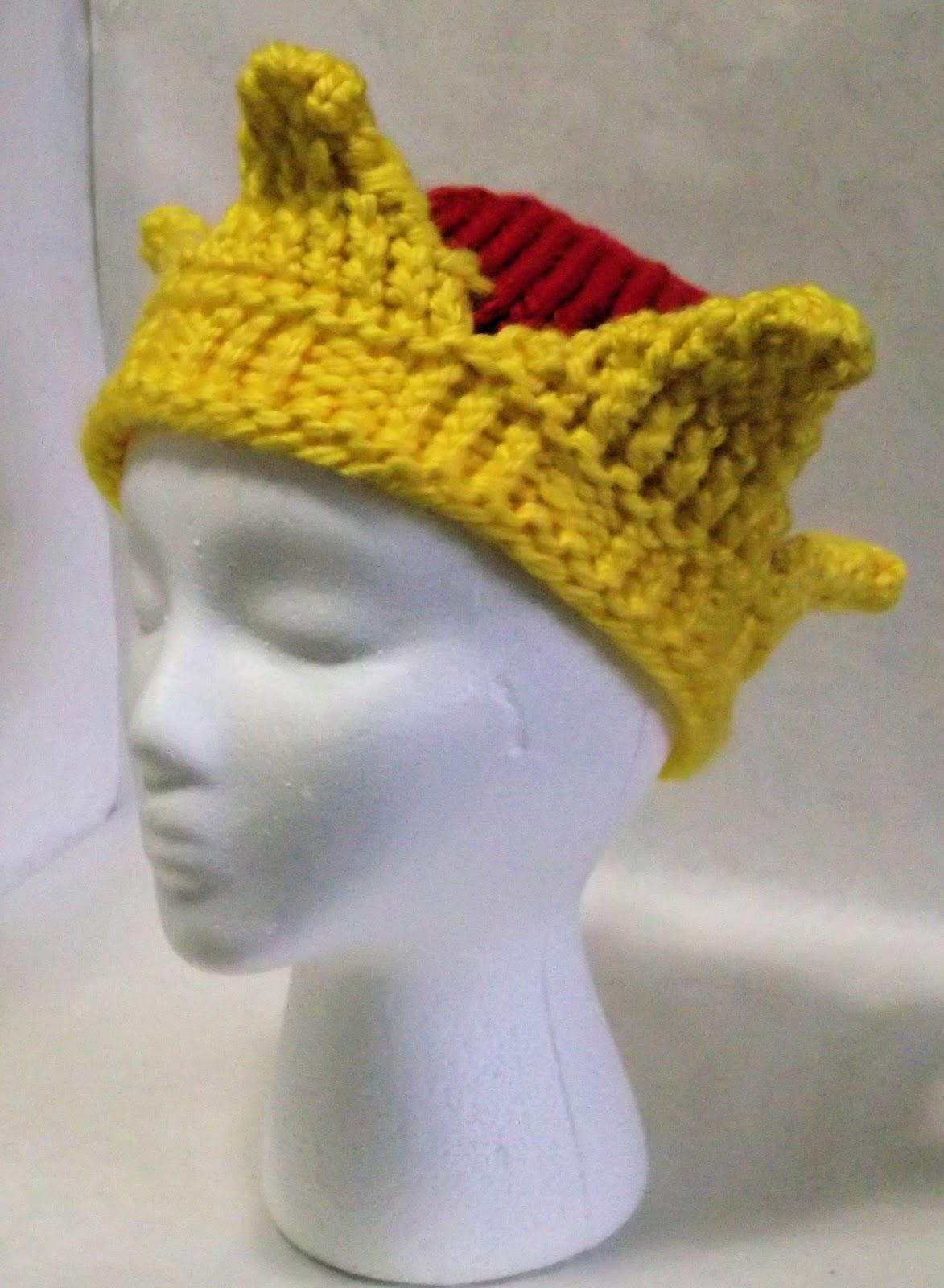 Boye Loom Knitting Patterns : The Loom Muse : Loom Knit Costume Hats