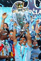 Agüero consiguió el título de la Premier en su primer año