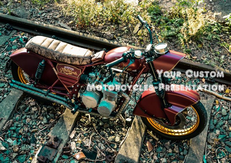 Dein Motorrad auf GB
