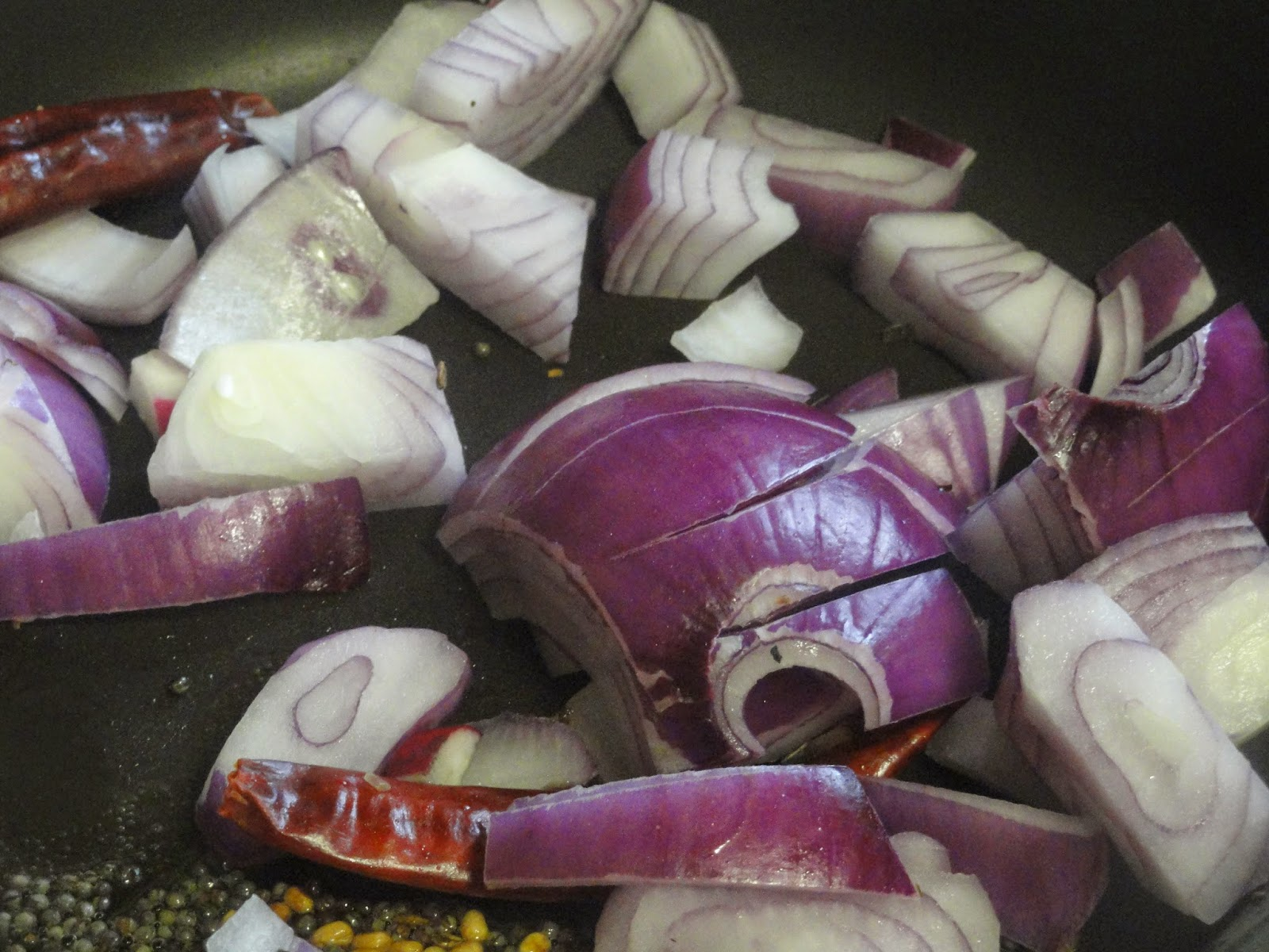 Saute onion