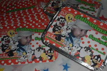 Rótulos Personalizados Baby Looney Tunes.