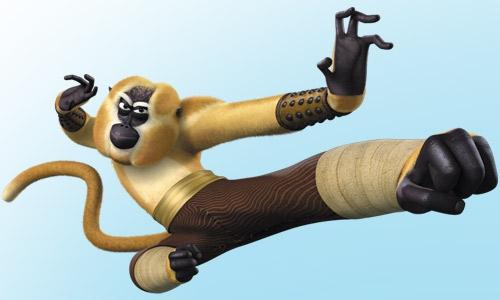 Maitre singe - Maitre kung fu panda ...