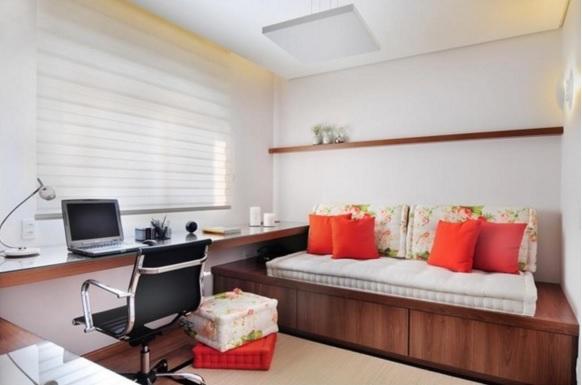 Sala Estar Con Home Office ~ Home Office  decoração e dicas para trabalhar em casa ~ Pimenta