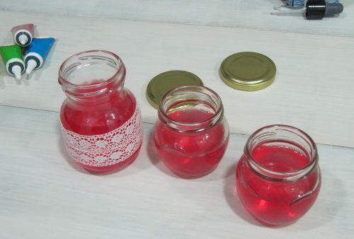Tarros de ambientador en gel con aceites esenciales