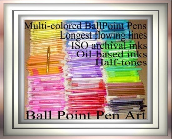 Jerry Stith's ballpoint pen collection & refills