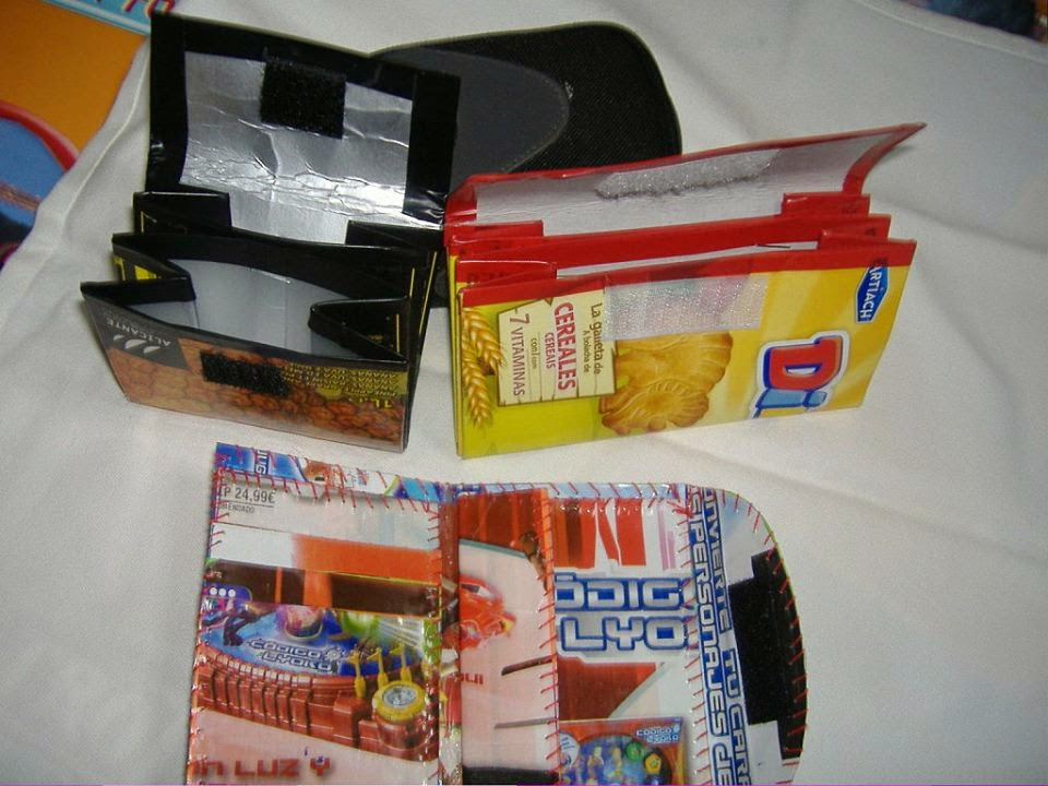 Ideas para Reciclar Tetra Packs