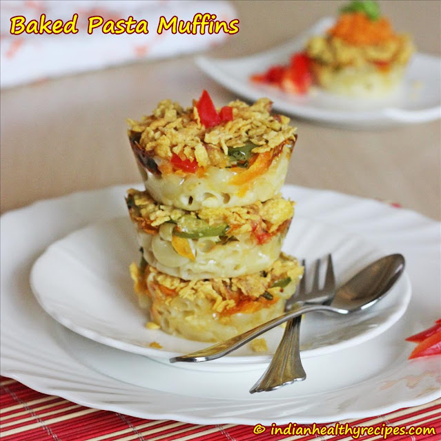 Baked Macaroni Muffins