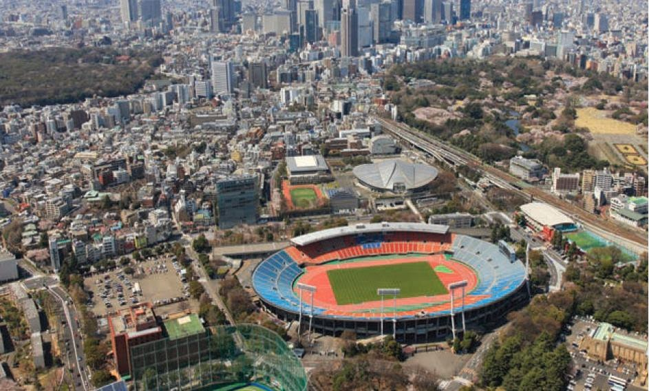 Japan's existing National Stadium