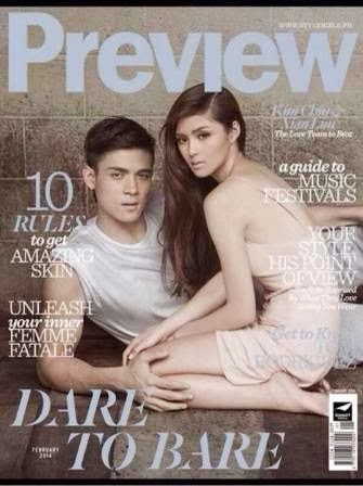 Kim and Xian were fresh from the success of their blockbuster film