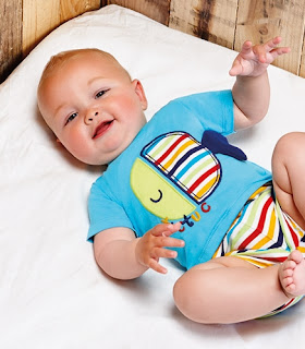 Tuc Tuc My Big Friend - Newborn Baby Boy Romper