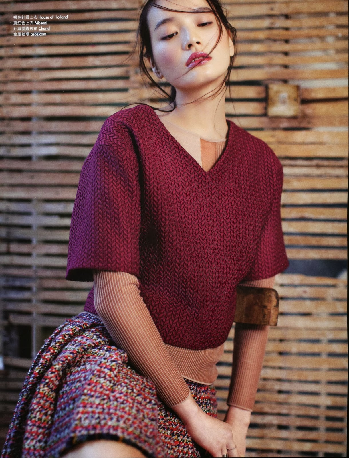 Magazine Photoshoot : Li Wei Photoshot For Elle Magazine Hong Kong February 2014 Issue