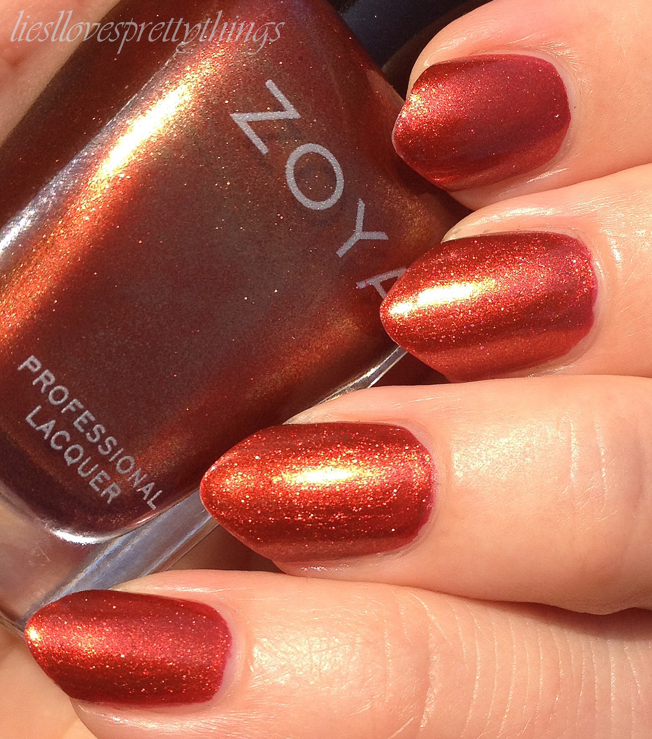 Zoya Channing swatch